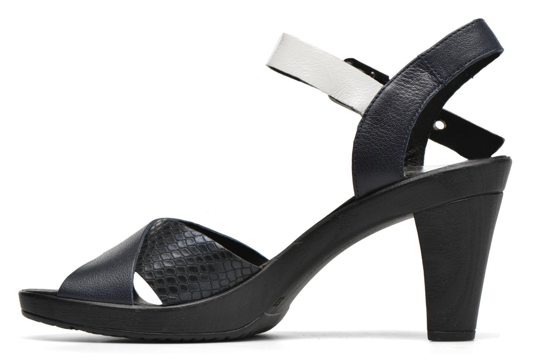 Sandales et nu-pieds Karston Juxin Noir vue face