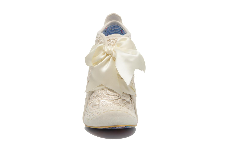 Zapatos con cordones Irregular choice Abigail's Third Party Blanco vista del modelo