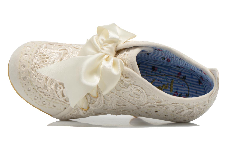 Zapatos con cordones Irregular choice Abigail's Third Party Blanco vista lateral izquierda