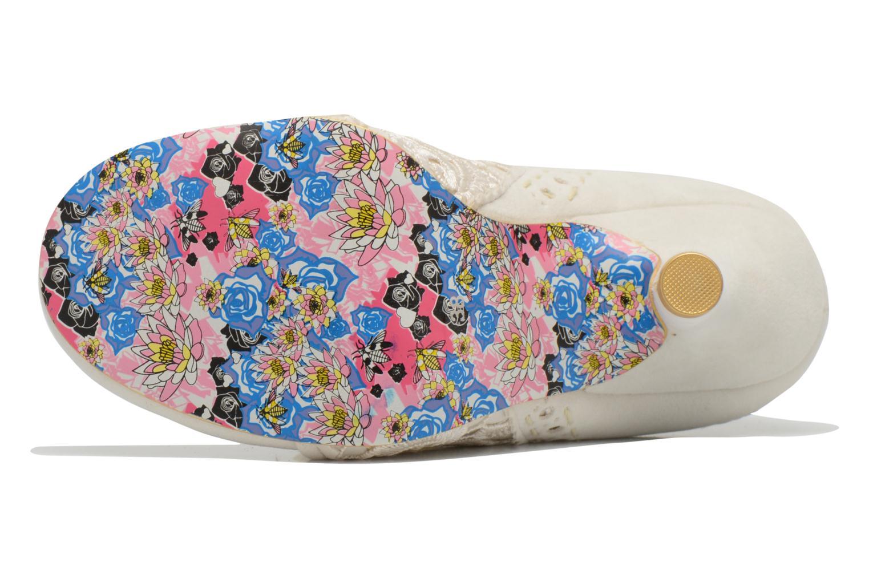 Zapatos con cordones Irregular choice Abigail's Third Party Blanco vista de arriba