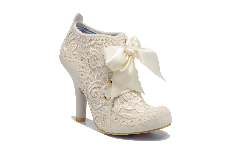 Zapatos con cordones Irregular choice Abigail's Third Party Blanco vista de detalle / par