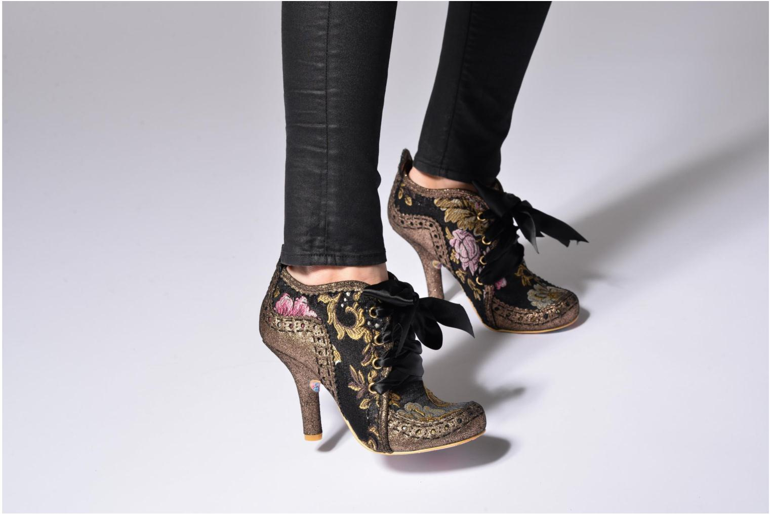 Zapatos con cordones Irregular choice Abigail's Third Party Negro vista de abajo