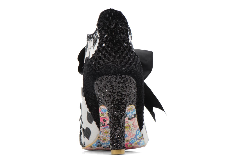 Chaussures à lacets Irregular Choice Abigail's Third Party Noir vue droite