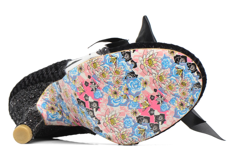 Chaussures à lacets Irregular Choice Abigail's Third Party Noir vue haut