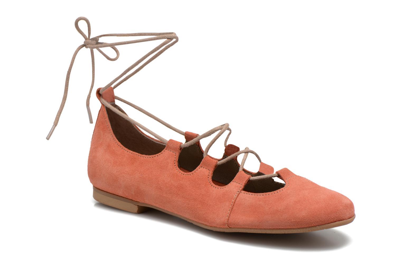 Ballerinaer Georgia Rose Calies Pink detaljeret billede af skoene
