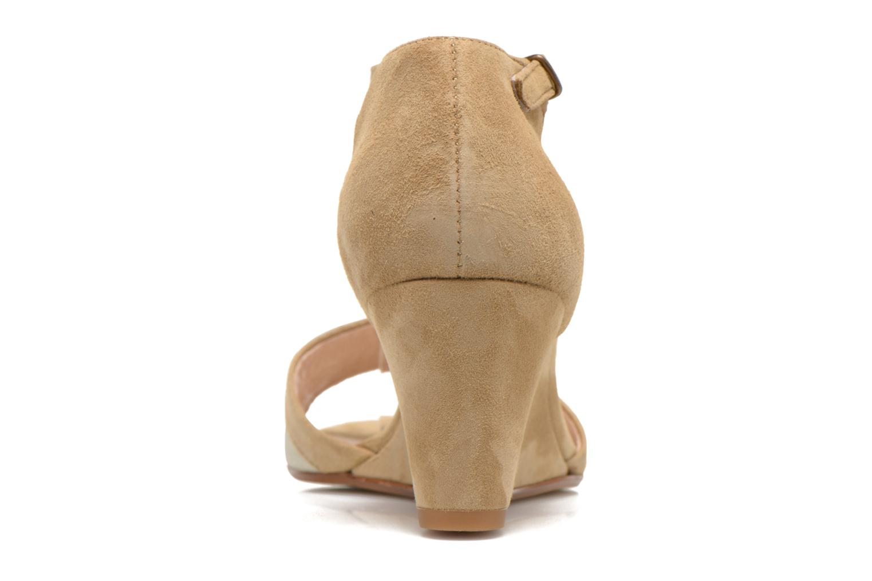 Sandales et nu-pieds Georgia Rose Lilika Beige vue droite