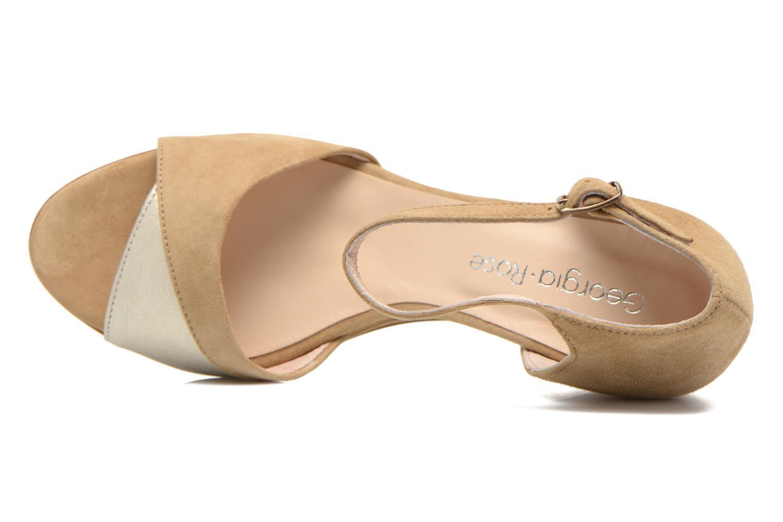 Sandales et nu-pieds Georgia Rose Lilika Beige vue gauche