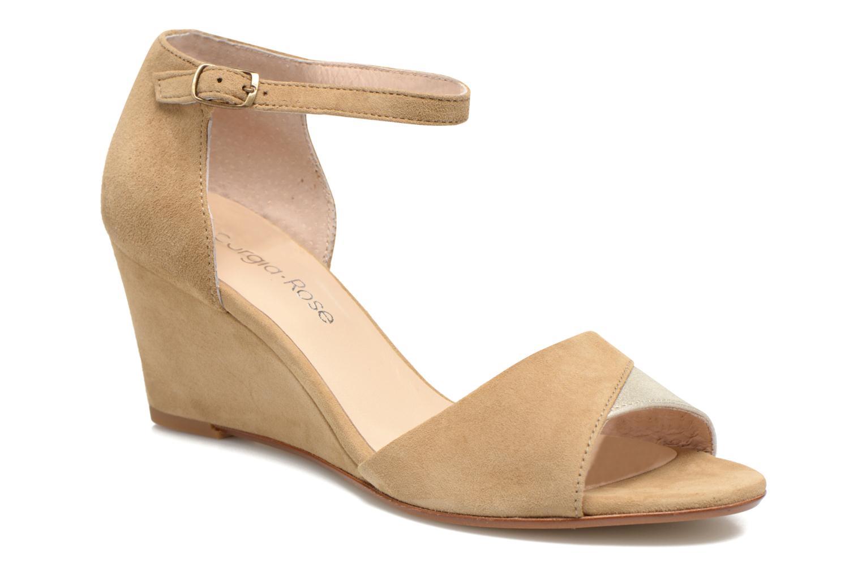 Sandaler Georgia Rose Lilika Beige detaljeret billede af skoene