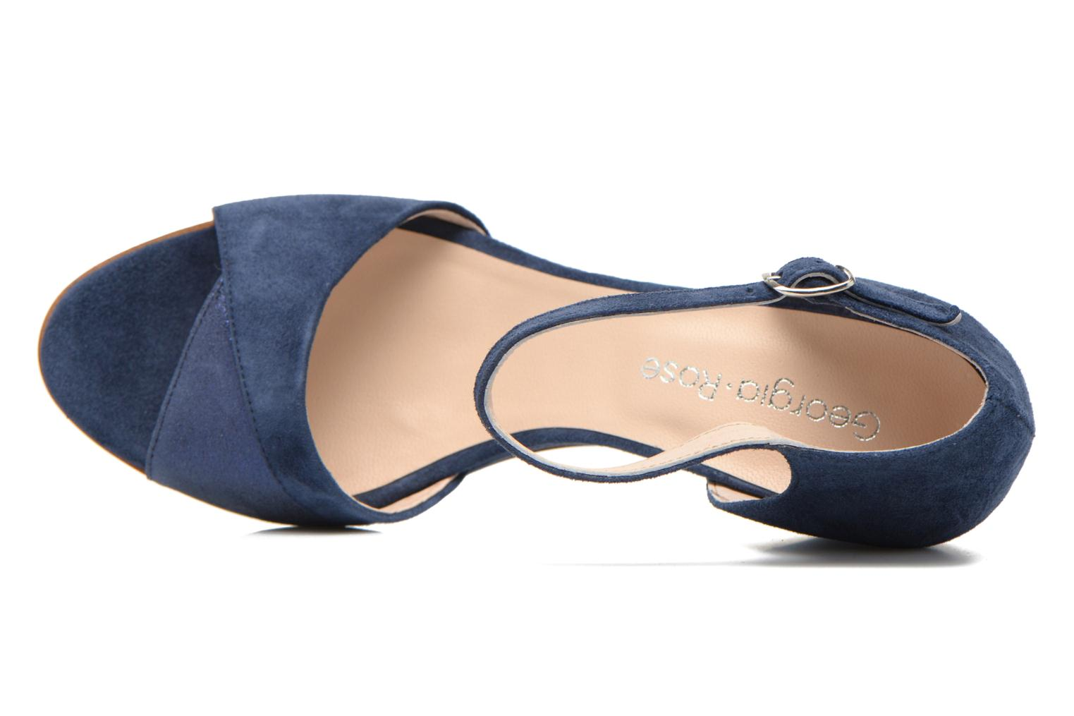 Sandals Georgia Rose Lilika Blue view from the left
