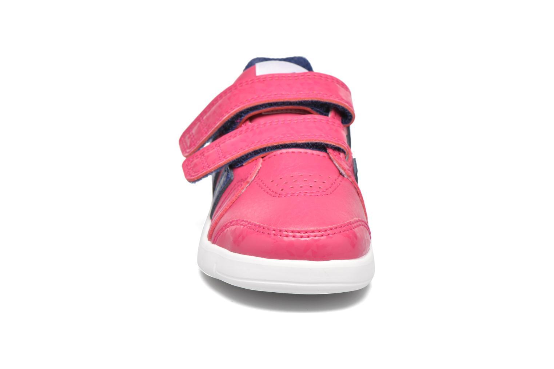 Sportschuhe Adidas Performance LK Trainer 7 CF I rosa schuhe getragen