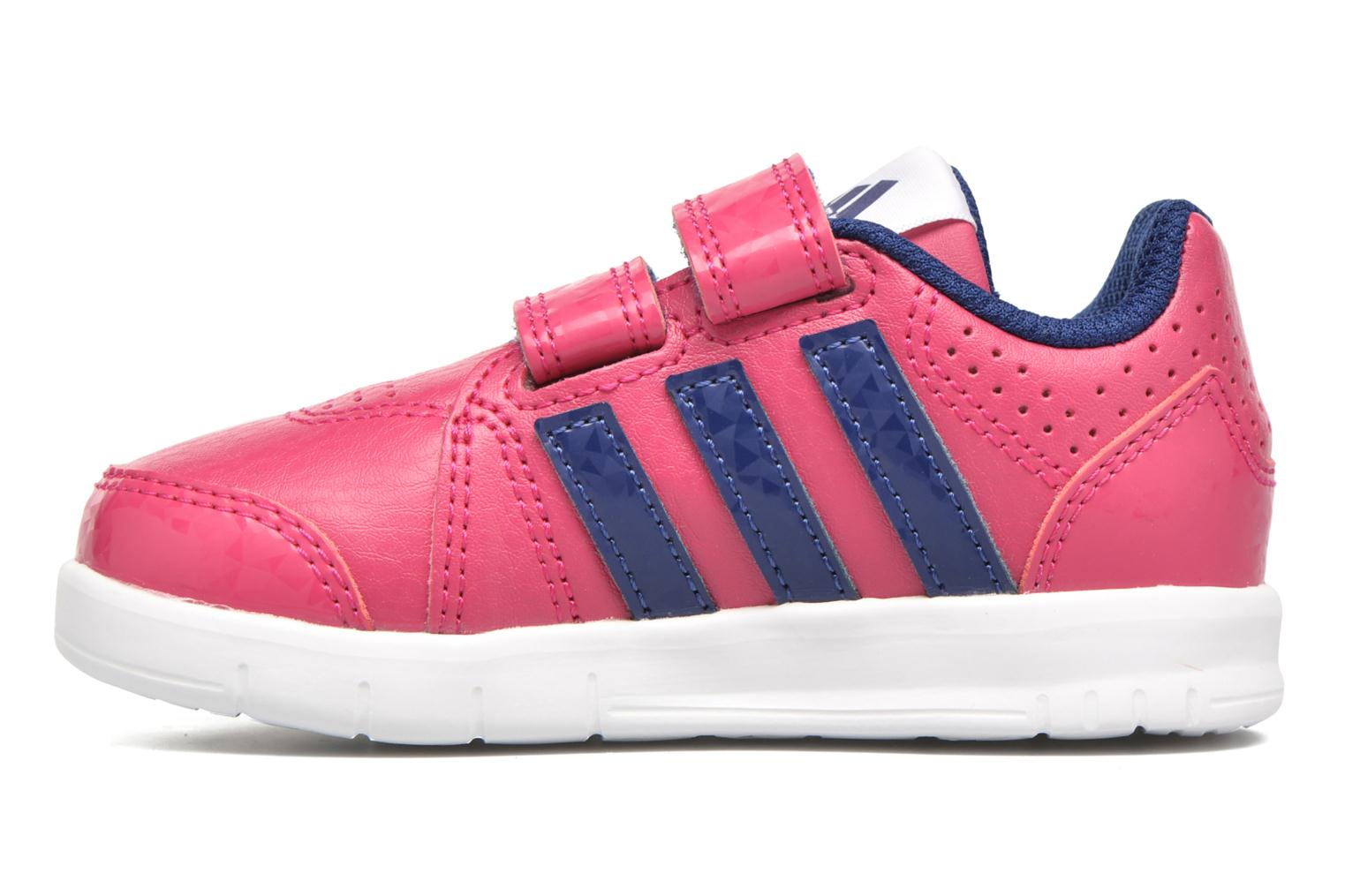 Sport shoes Adidas Performance LK Trainer 7 CF I Pink front view