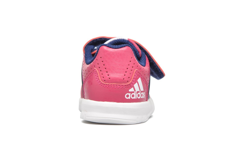 Sportschuhe Adidas Performance LK Trainer 7 CF I rosa ansicht von rechts