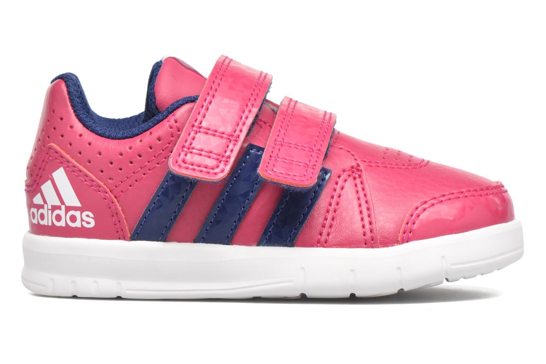 Sportschuhe Adidas Performance LK Trainer 7 CF I rosa ansicht von hinten