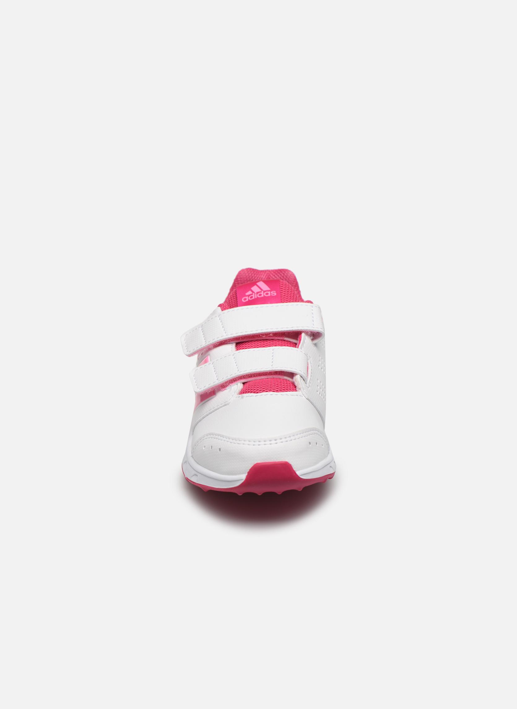 Baskets Adidas Performance lk sport 2 cf k Blanc vue portées chaussures
