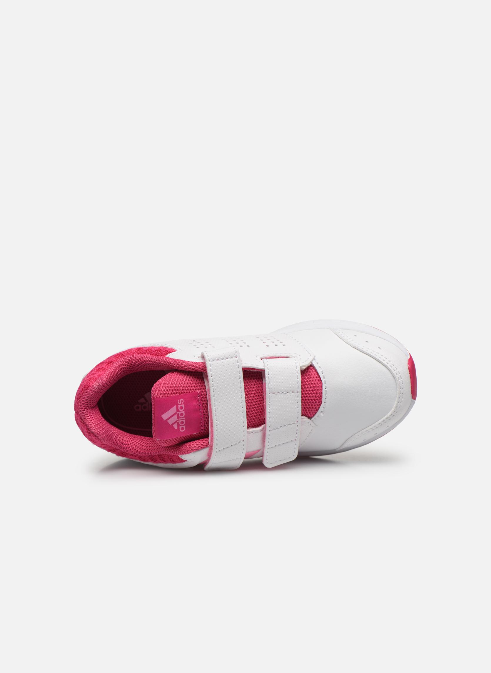 Sneaker Adidas Performance lk sport 2 cf k weiß ansicht von links