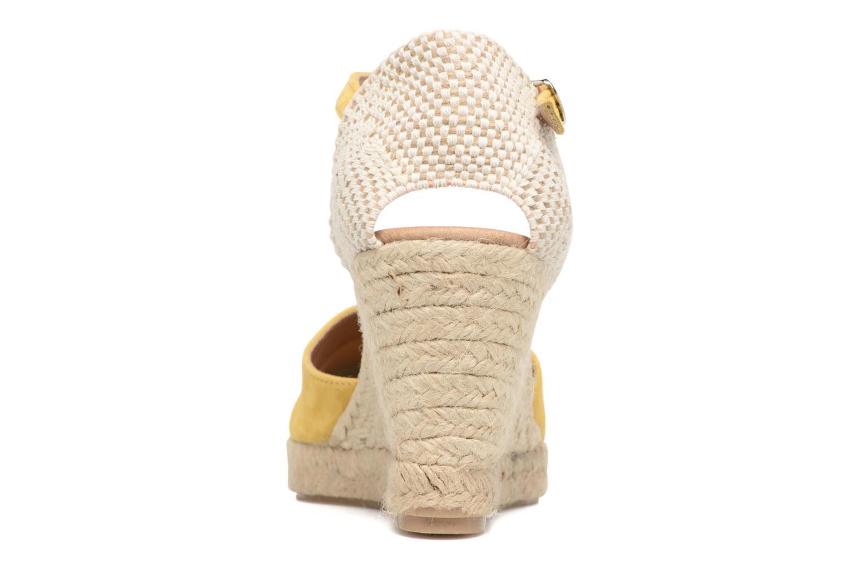 Sandali e scarpe aperte Georgia Rose Iponiki Giallo immagine destra