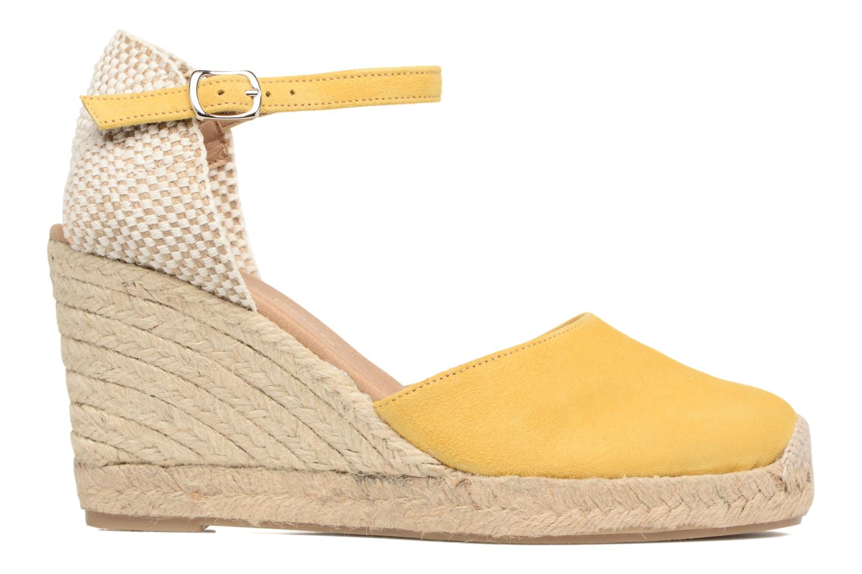 Sandalen Georgia Rose Iponiki gelb ansicht von hinten
