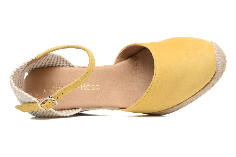 Sandali e scarpe aperte Georgia Rose Iponiki Giallo immagine sinistra