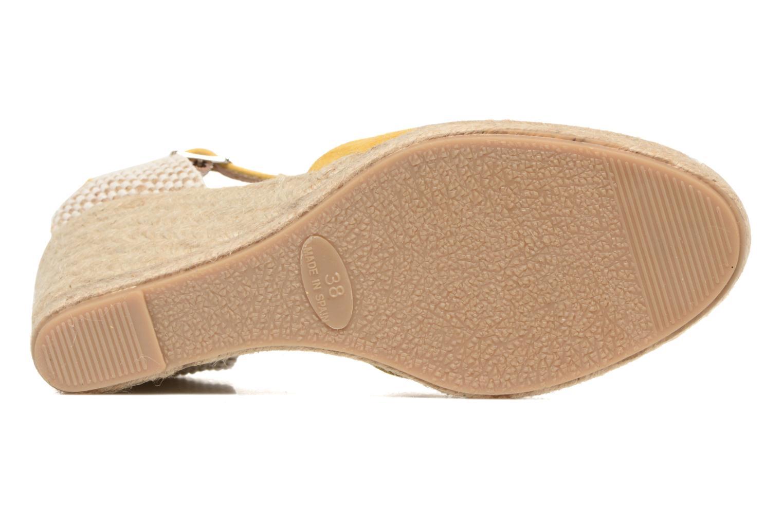 Sandali e scarpe aperte Georgia Rose Iponiki Giallo immagine dall'alto