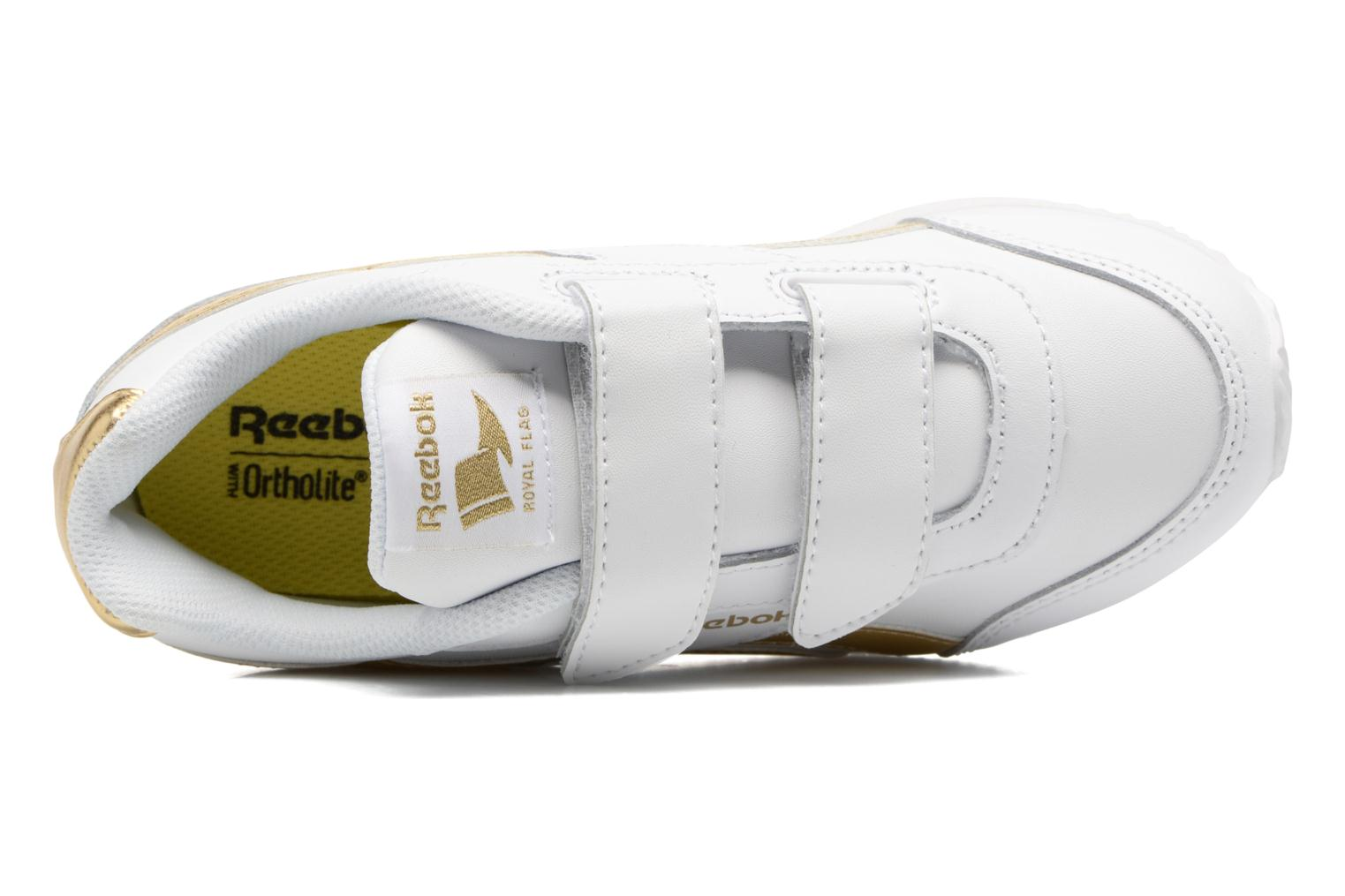 Trainers Reebok Reebok Royal Cljog 2 2V White view from the left
