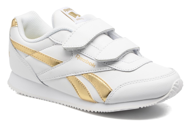 Reebok Royal Cljog 2 2V White/Gold Met