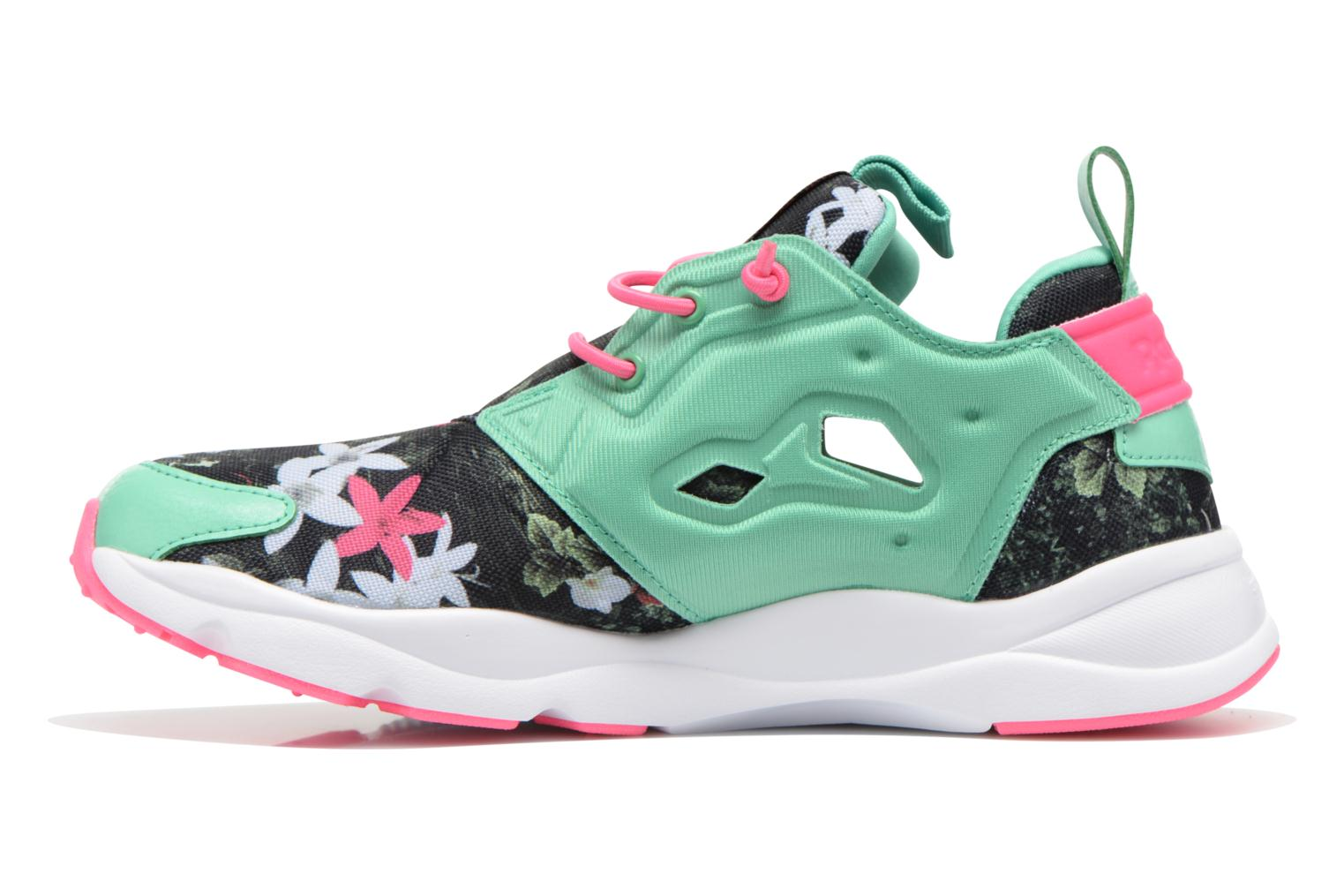 Trainers Reebok Furylite Graphic Green front view