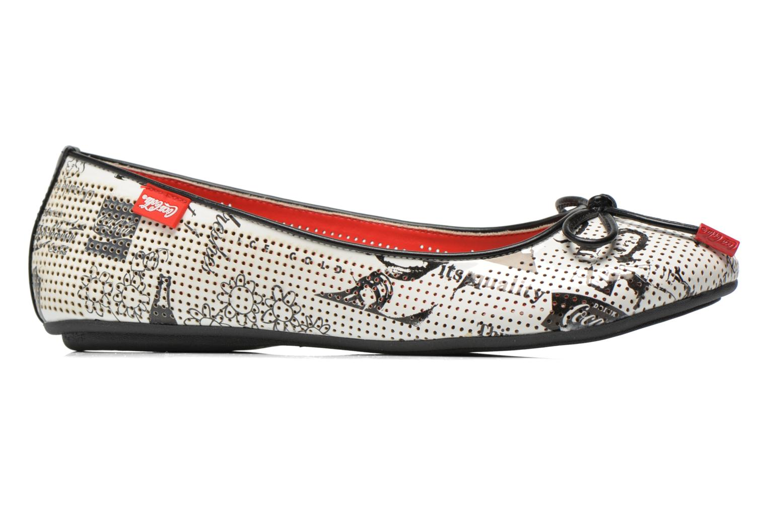 Ballerina's Coca-cola shoes Paper Multicolor achterkant