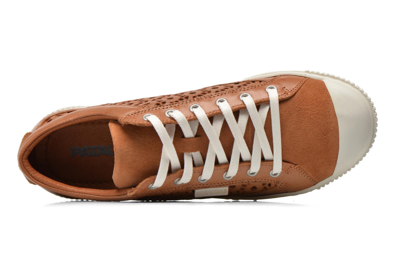 Sneaker Pataugas Bague/A braun ansicht von links