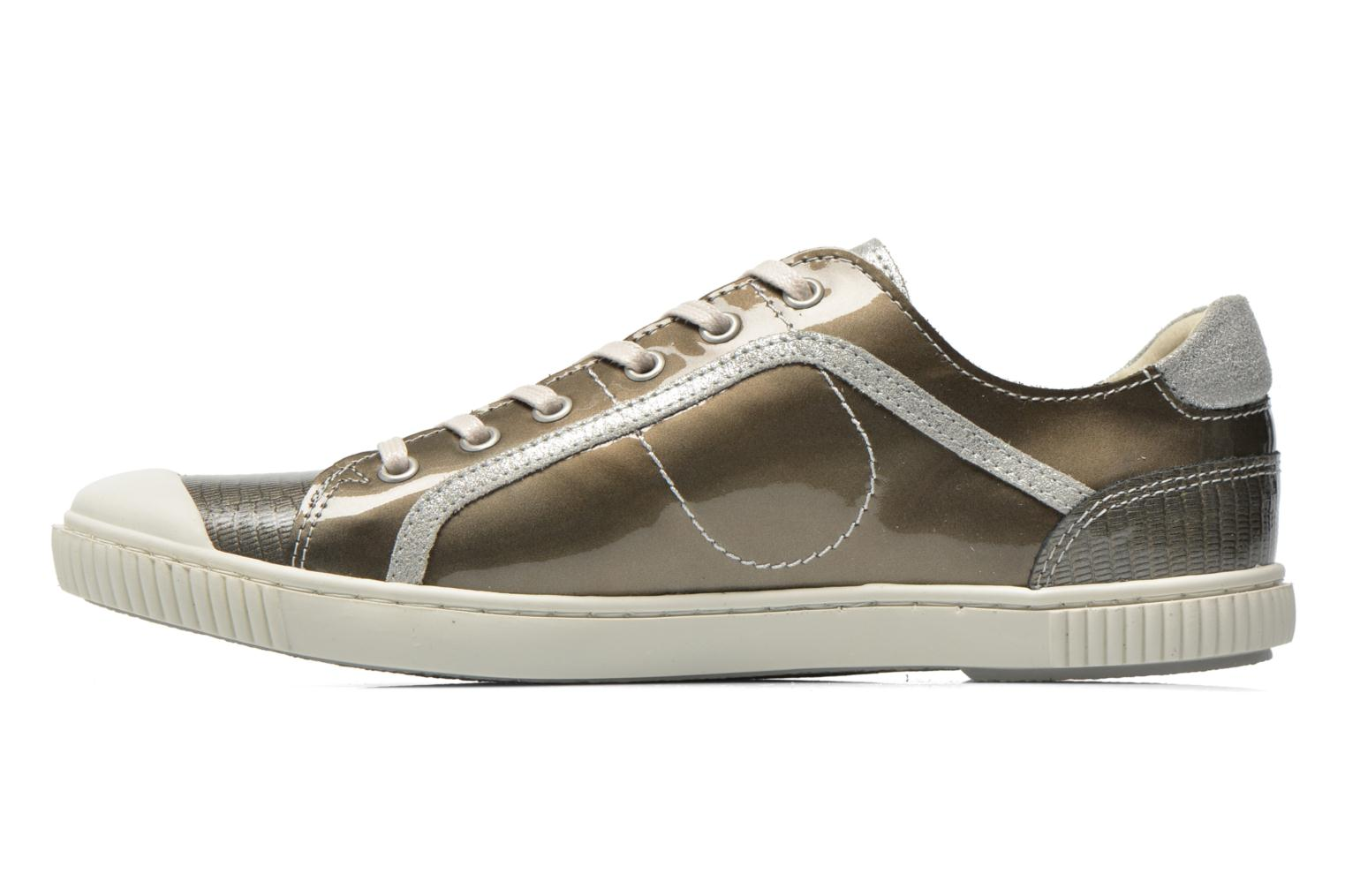 Trainers Pataugas Baheri/V Silver front view