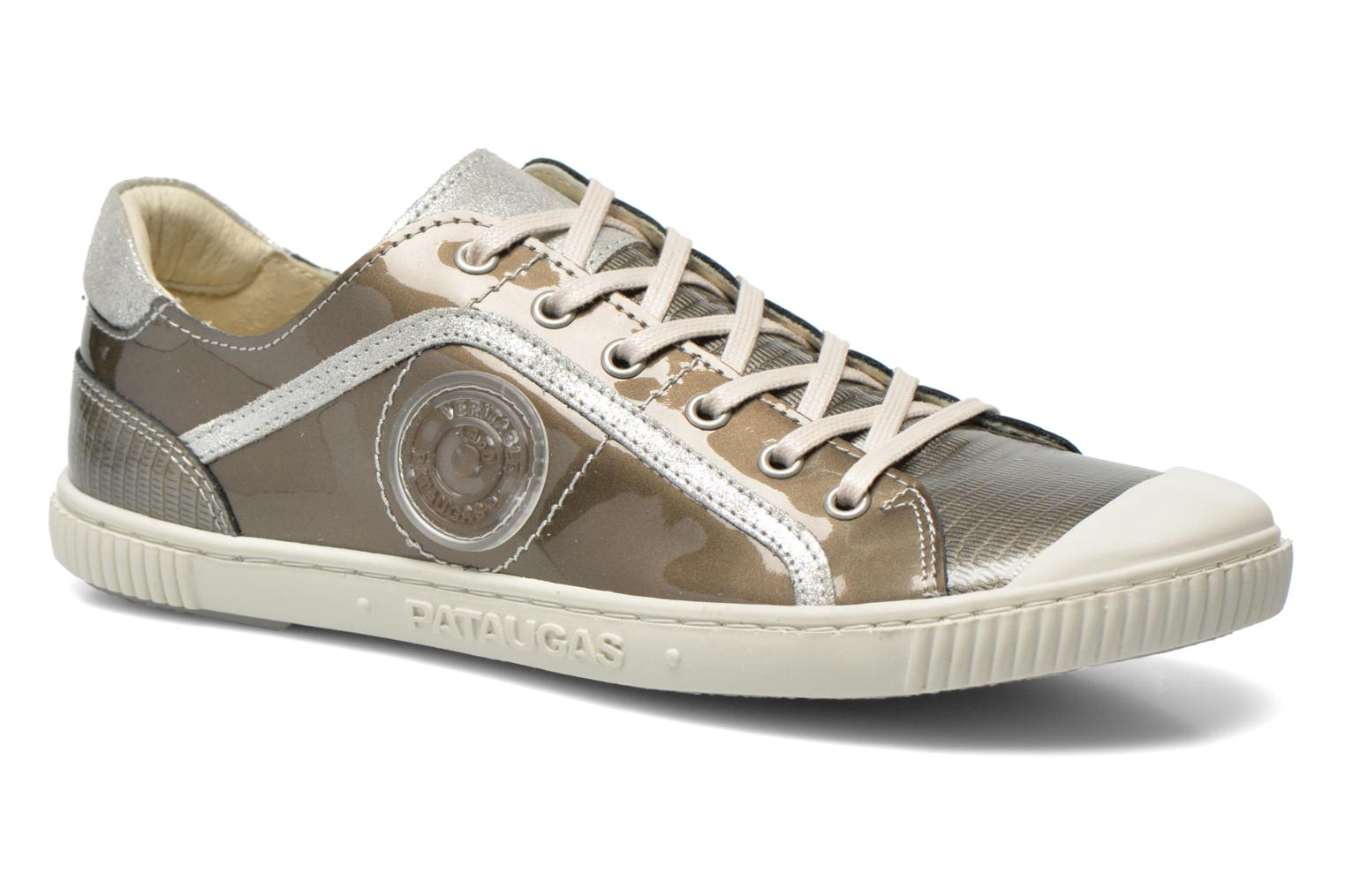 Trainers Pataugas Baheri/V Silver detailed view/ Pair view