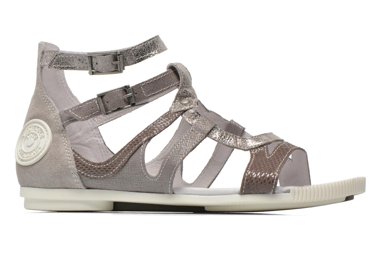 Sandales et nu-pieds Pataugas Chance Gris vue derrière