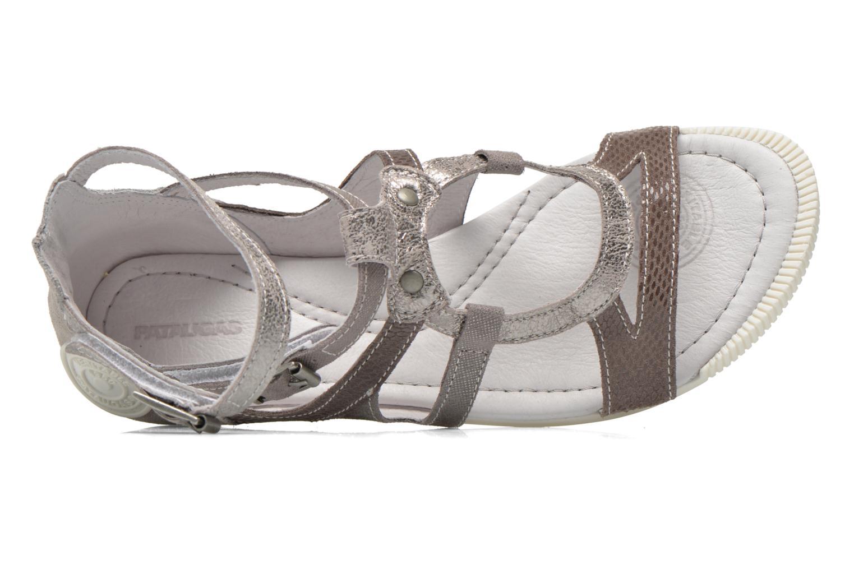 Sandales et nu-pieds Pataugas Chance Gris vue gauche