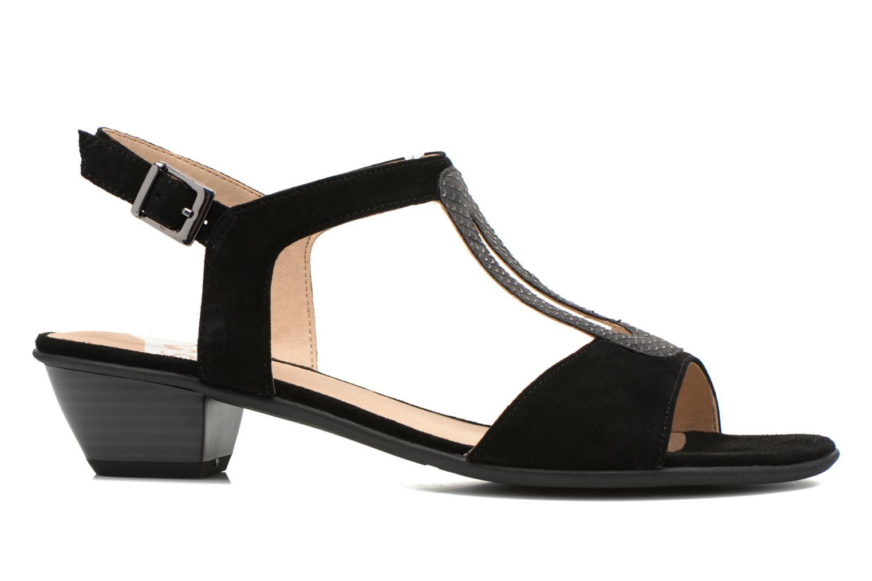 Sandales et nu-pieds Sweet Chenel Noir vue derrière