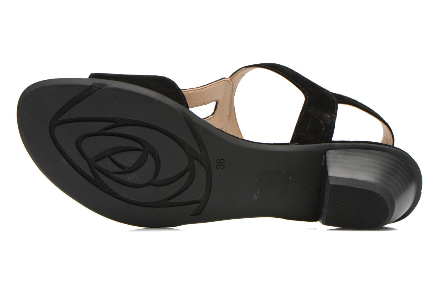 Sandals Sweet Chenel Black view from above