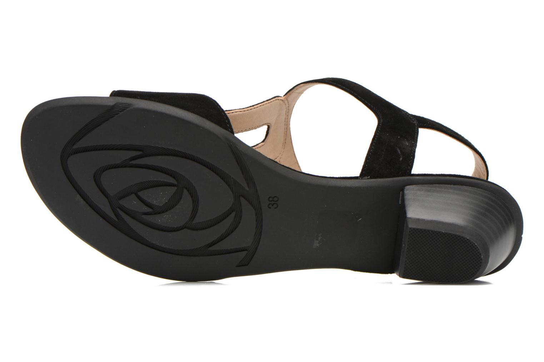 Sandales et nu-pieds Sweet Chenel Noir vue haut