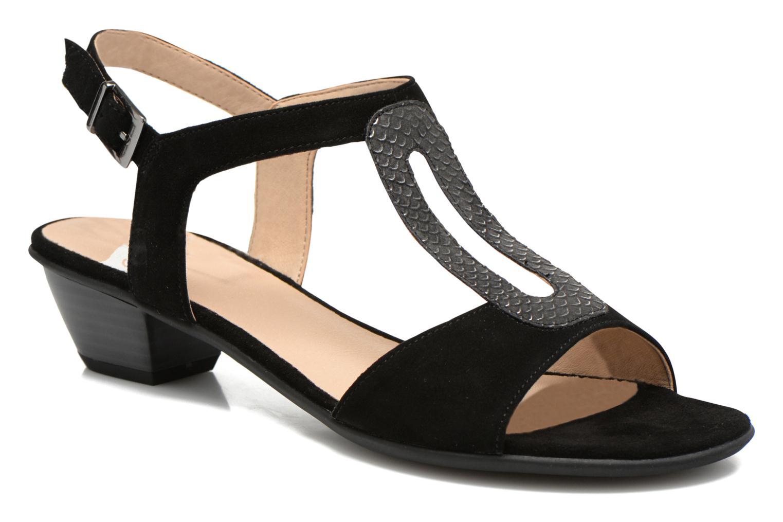 Sandales et nu-pieds Sweet Chenel Noir vue détail/paire