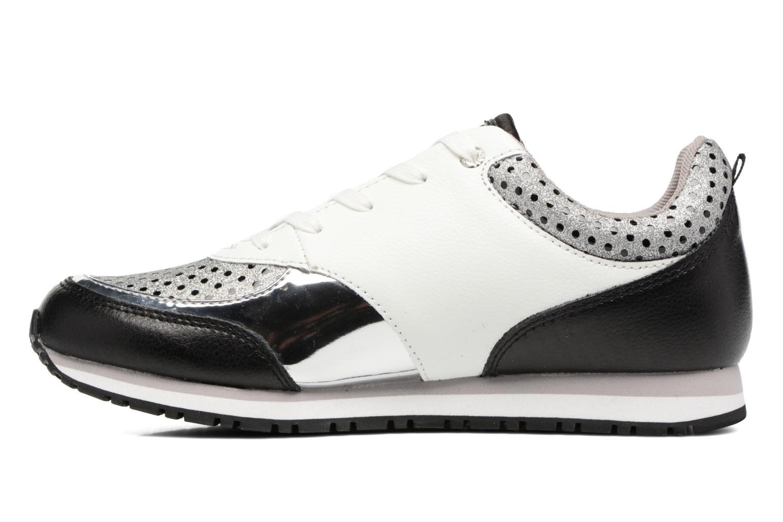 Sneakers Guess Reeta Zwart voorkant