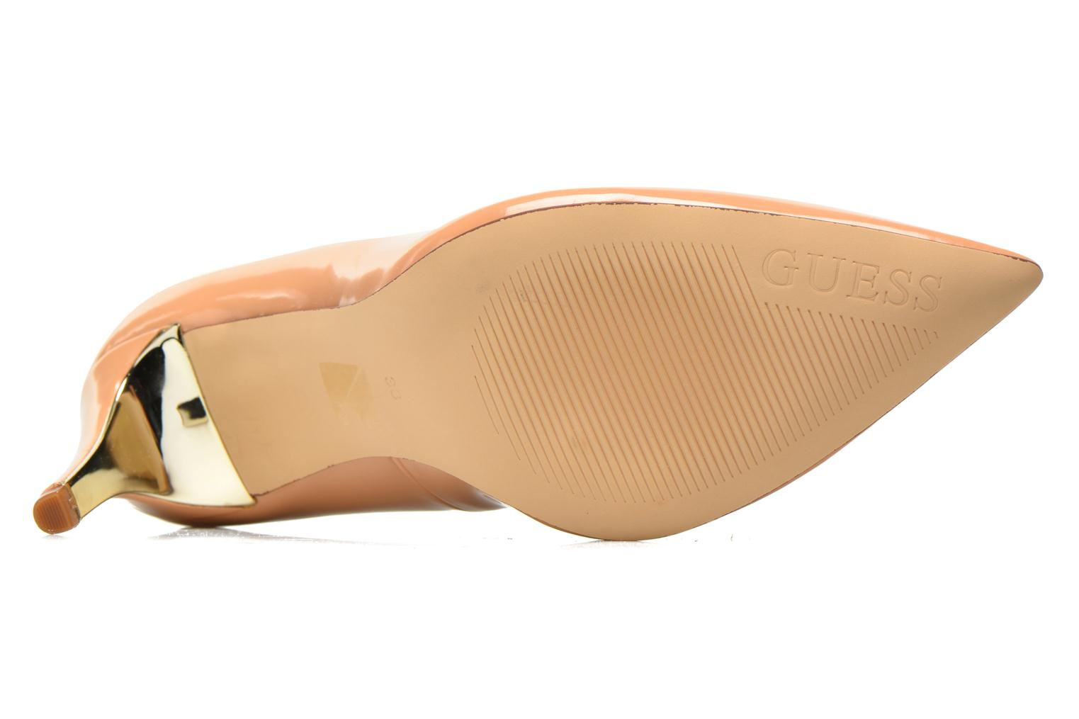 High heels Guess Elyca2 Beige view from above