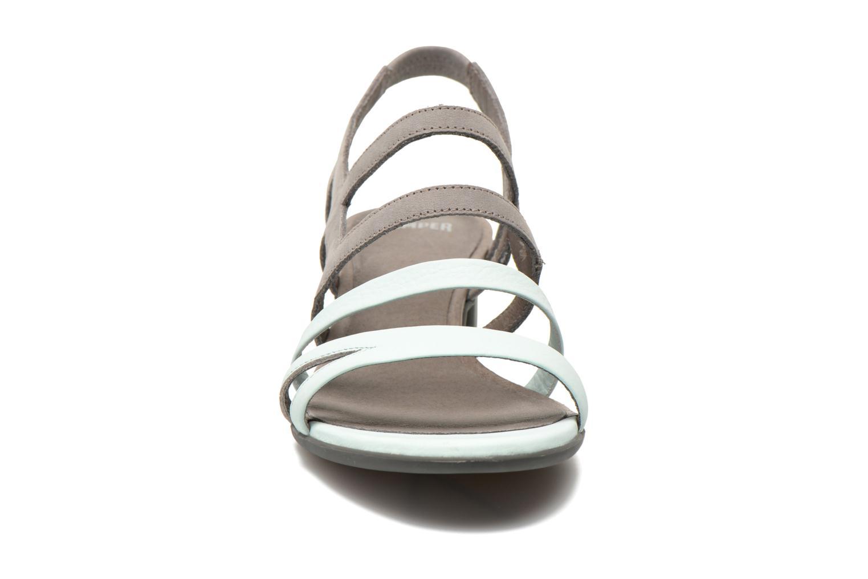 Sandales et nu-pieds Camper Beth K200067 Gris vue portées chaussures