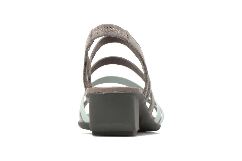 Sandales et nu-pieds Camper Beth K200067 Gris vue droite