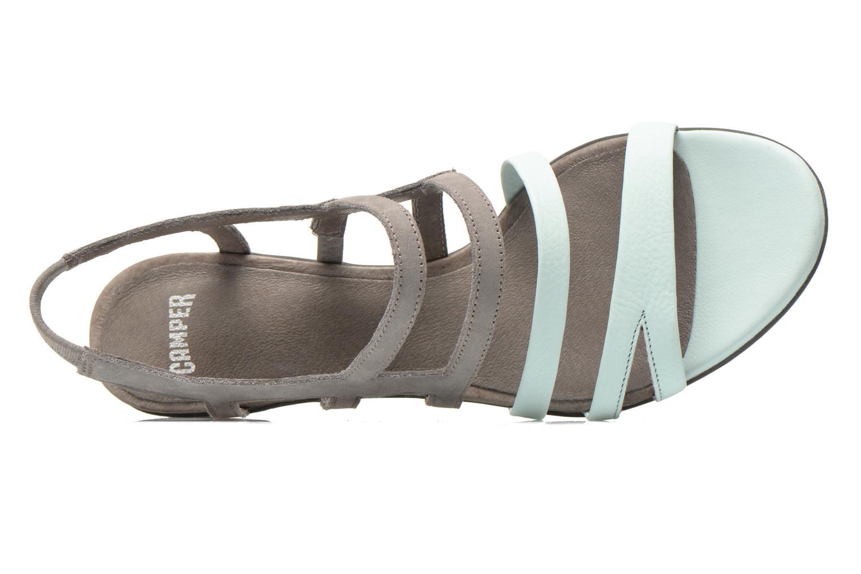 Sandales et nu-pieds Camper Beth K200067 Gris vue gauche