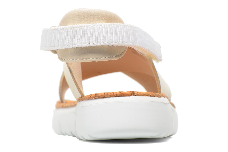 Sandales et nu-pieds Camper Oruga K200157 Beige vue droite