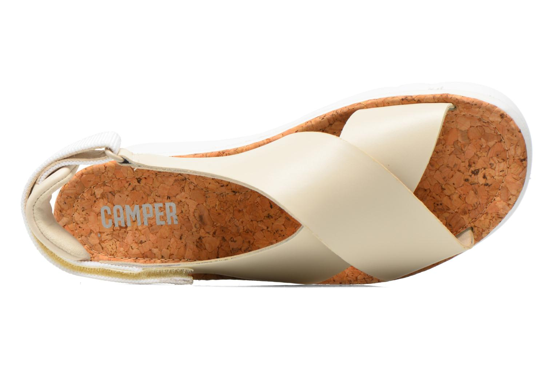 Sandales et nu-pieds Camper Oruga K200157 Beige vue gauche