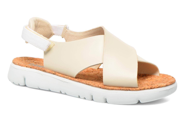 Sandales et nu-pieds Camper Oruga K200157 Beige vue détail/paire