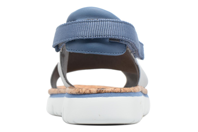 Sandales et nu-pieds Camper Oruga K200157 Gris vue droite