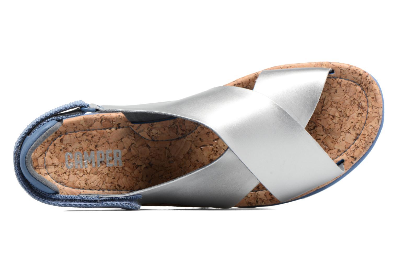 Sandales et nu-pieds Camper Oruga K200157 Gris vue gauche