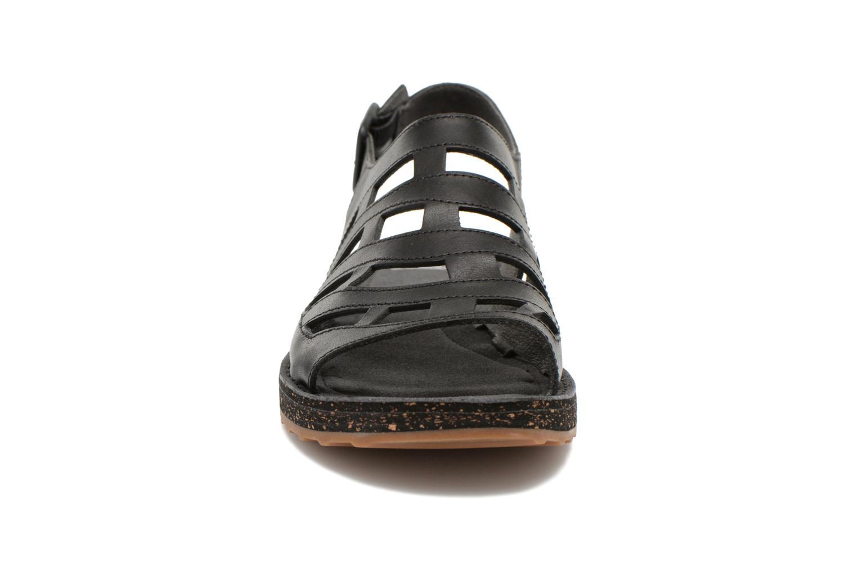 Sandalen Camper Twss K200140 schwarz schuhe getragen