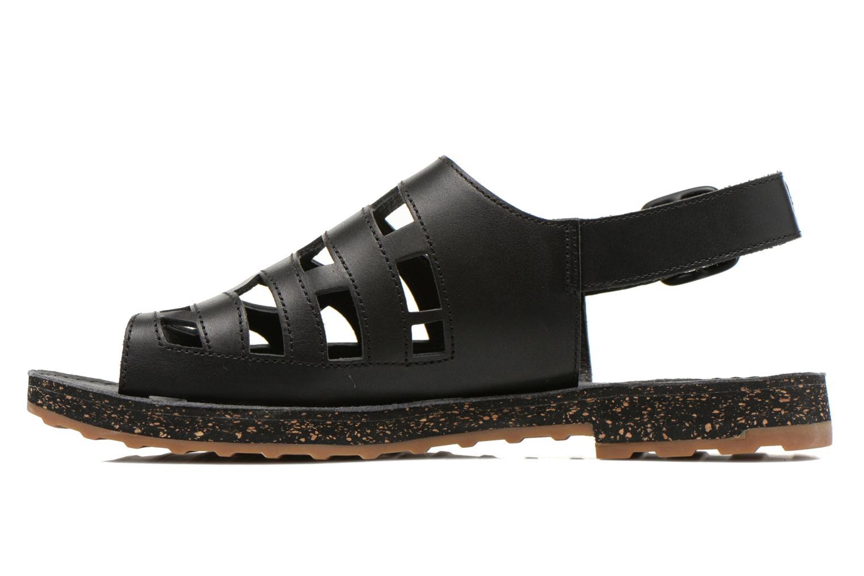 Sandales et nu-pieds Camper Twss K200140 Noir vue face