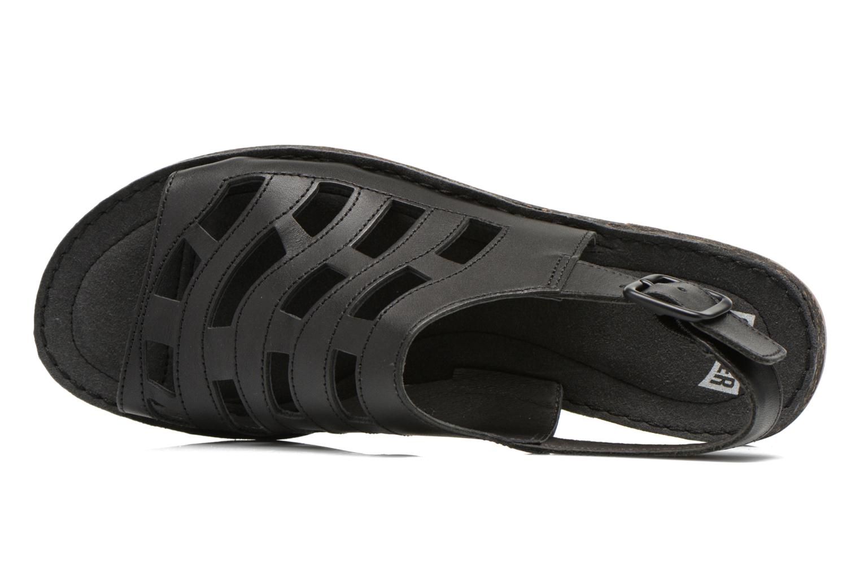 Sandales et nu-pieds Camper Twss K200140 Noir vue gauche