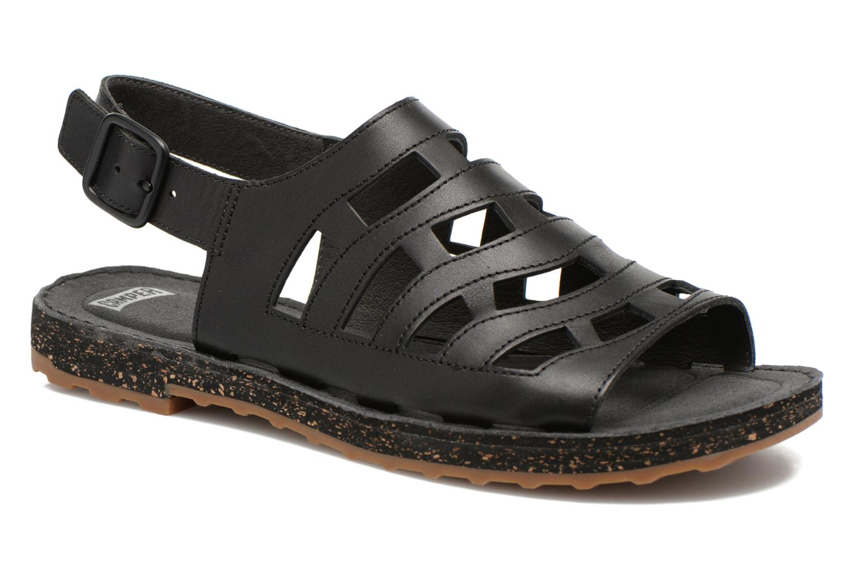 Sandales et nu-pieds Camper Twss K200140 Noir vue détail/paire